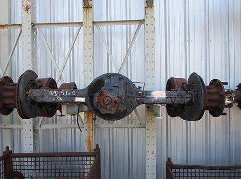 Planetary Steer Axles